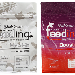 Комнатные растения - Набор сухих удобрений Powder Feeding Hybrids 125 гр, 0