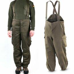 Одежда и обувь - Утепленные оригинал брюки-полукомбинезон Bundesheer, 0