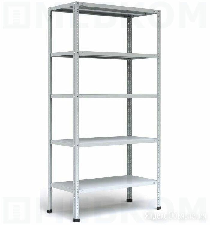 Стеллаж металлический MS STRONG 185x120x60 (5 полок) по цене 8048₽ - Стеллажи и этажерки, фото 0