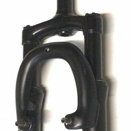 Бейсбол - Вилка велосипедная HORST ST45, 20, сталь, ход 45 мм, 28.6мм, безрезьбовой шток, 0