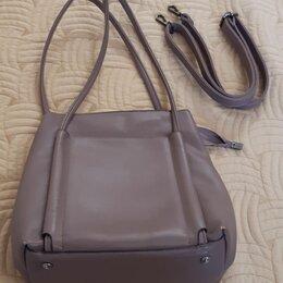 Сумки - Женская сумка кожаная, 0
