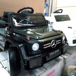 Электромобили - Детский электромобиль мерседес g55 полный привод, 0