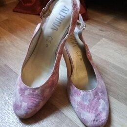 Туфли - Туфли alpina, розовые, размер 39, 0