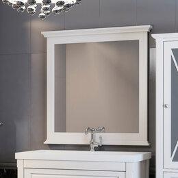 Зеркала - Зеркало Opadiris Палермо 90 белое матовое, 0