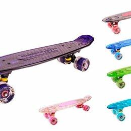 Скейтборды и лонгборды - Скейт пластик Transparent 27 light 1/4 TLS-403L, 0