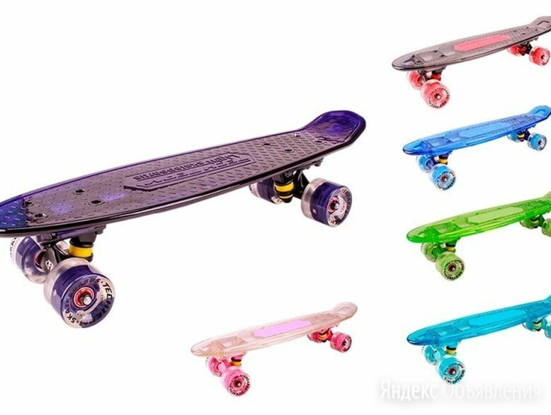Скейт пластик Transparent 27 light 1/4 TLS-403L по цене 2980₽ - Настольные игры, фото 0