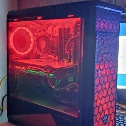 Настольные компьютеры - Игровой компьютер за 69500 рублей с подсветкой, 0