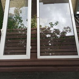 Окна - Стеклопакет болконный 3 шт 142-77 1шт145-60, 0