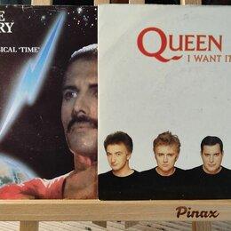 Виниловые пластинки - I Want It All и Time две культовые 45-ки Queen, 0