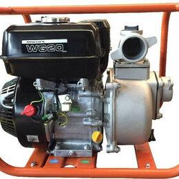 Мотопомпы - Мотопомпа бензиновая ZONGSHEN WG 20 для слабозагрязненной воды [1T90SWG20], 0