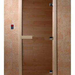 Двери - Стеклянная дверь Бронза DoorWood, 0