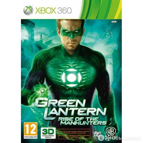 Warner Bros. Green Lantern: Rise of the Manhunters (Xbox 360) по цене 1990₽ - Игры для приставок и ПК, фото 0