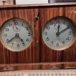 Часы настольные и каминные - Шахматные часы советские, 0