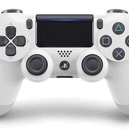 Аксессуары - Геймпад Playstation 4 Белый (White) V2 б/у, 0