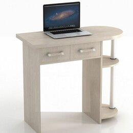 Компьютерные и письменные столы - Компьютерный стол кс-10 колибри дуб беленый, 0