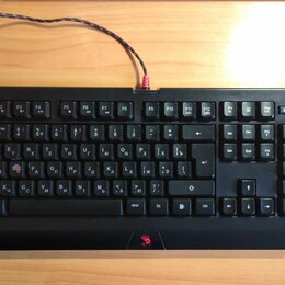 Клавиатуры - Игровая клавиатура A4Tech Bloody B120, 0