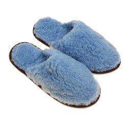 Домашняя обувь - Тапочки мужские, цвет голубой, размер 42-45, 0
