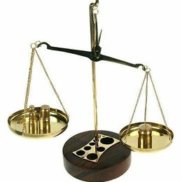 Весы - Весы с разновесами 23*21 см., 0