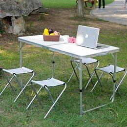 Походная мебель - Стол и 4 стула для пикника, 0