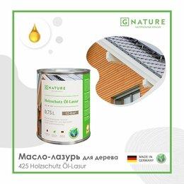 Масла и воск - Gnature Масло-лазурь для дерева 425 Holzschutz Öl-Lasur, 0