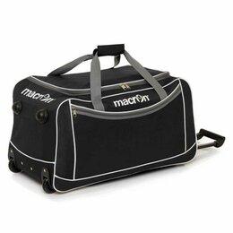 Дорожные и спортивные сумки - Сумка спортивная на колесах macron COMPASS, черный цвет, 0