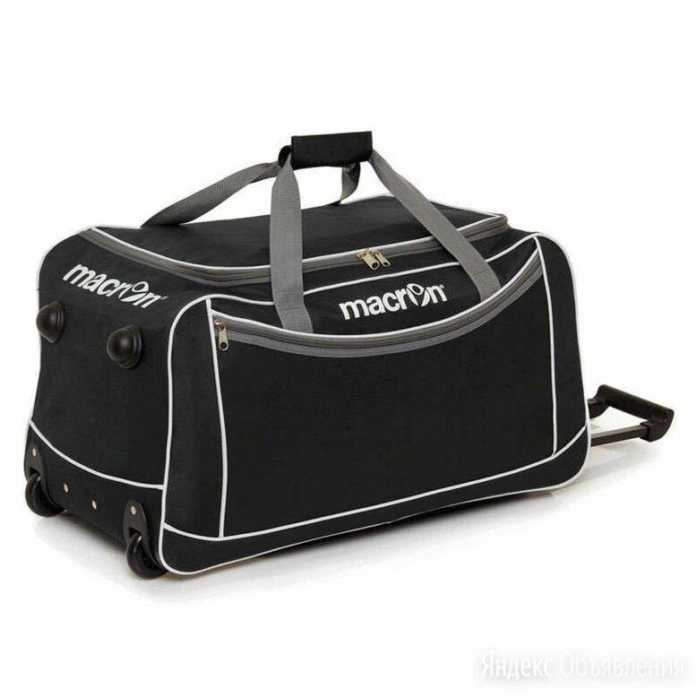 Сумка спортивная на колесах macron COMPASS, черный цвет по цене 1100₽ - Дорожные и спортивные сумки, фото 0