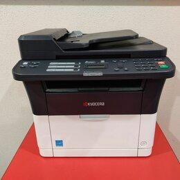 Принтеры и МФУ - Мфу Лазерный Kyosera FS-1025MFP (c LAN и ADF), 0