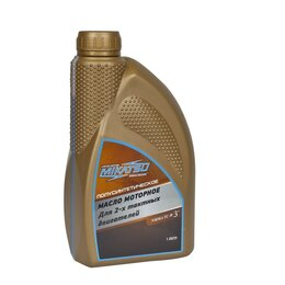 Масла, технические жидкости и химия - Масло Mikatsu Premium 2-х так., полусинтетика 1л, 0