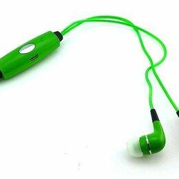 Наушники и Bluetooth-гарнитуры - Наушники капельки light lht001 светящиеся (green)), 0