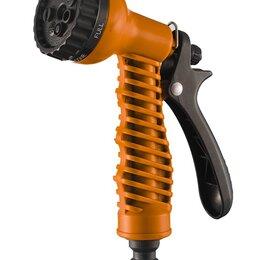 Пистолеты, насадки, дождеватели - ВИХРЬ Пистолет распылитель, 7 режимов полива Вихрь, 0