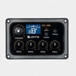 Оборудование для звукозаписывающих студий - Joyo EQ-504 4-полосный эквалайзер, 0