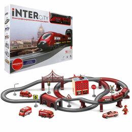 """Детские железные дороги и автотреки - Железная дорога 1toy InterCity Megapolis """"Служба спасения"""" железнод..., 0"""