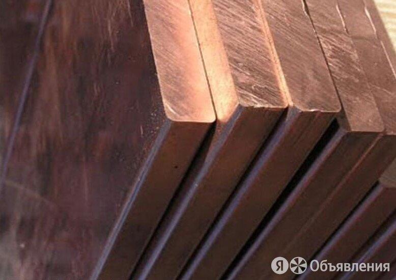 Полоса медная 40х6 мм ШММ ГОСТ 434-78 по цене 413₽ - Металлопрокат, фото 0