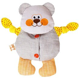 Развивающие игрушки - Развивающая игрушка с вишнёвыми косточками 'Мишутка. Доктор мякиш', 0