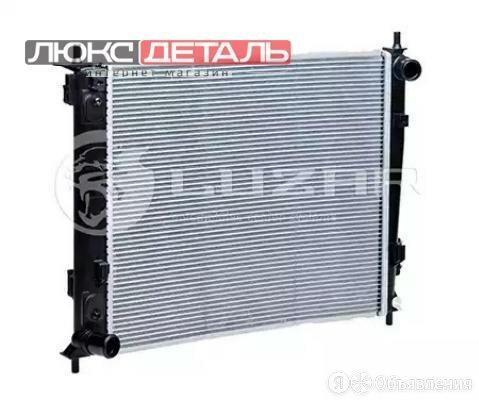 LUZAR LRC08K2 Радиатор охл. для а/м Kia Soul 09- 1.6CRDi MT  по цене 5250₽ - Отопление и кондиционирование , фото 0