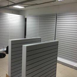 Мебель для учреждений - Стеллаж с экономпанелью, 0