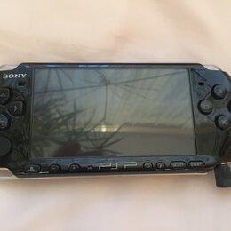 Игровые приставки - Sony psp 3008 прошитая, комплект, 0
