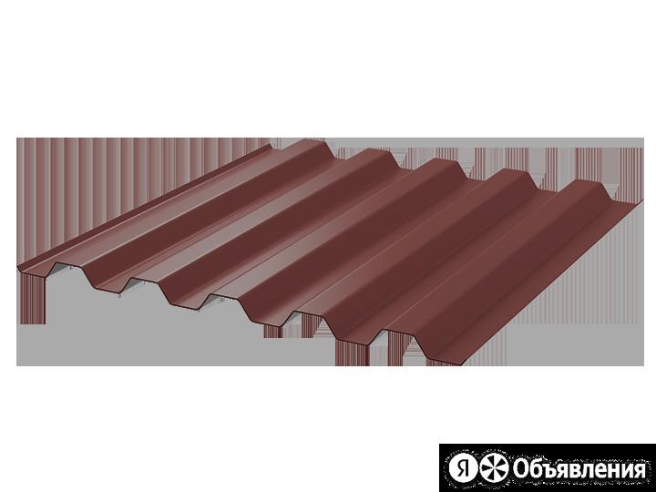 Профнастил полимер С44 0.65 1000/1047 ПЭ RAL3009 красный оксид по цене 1191₽ - Кровля и водосток, фото 0