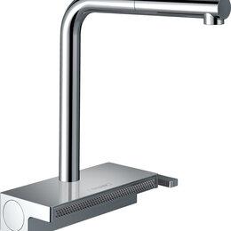Смесители - Смеситель Hansgrohe Aquno Select M81 73836000 для кухонной мойки, хром, 0