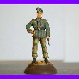 Сборные модели - 1/16 модель фигурки Немецкий офицер с ракетницей Восточный фронт Верлинден 815,, 0