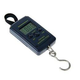 Безмены - Безмен LuazON LV-403, электронный, до 40 кг, тёмно-синий, 0