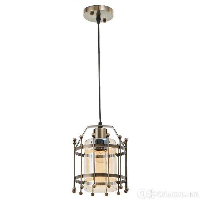 Светильник 88309/1 E27 40Вт бронза 16х16х23-123 см по цене 5288₽ - Люстры и потолочные светильники, фото 0