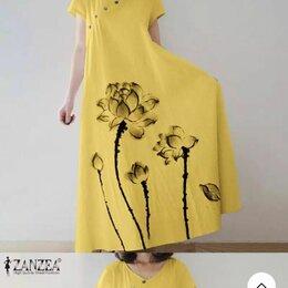 Платья - Платье zanzea макси длинное, 0