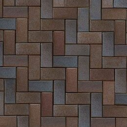 Садовые дорожки и покрытия - Тротуарная клинкерная брусчатка ABC-Klinkergruppe Mitternachtsblau, 0