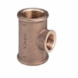 Водопроводные трубы и фитинги - VIEGA R2 модель 3130 Тройник с внутр.резьбой…, 0