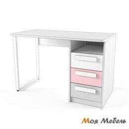 Компьютерные и письменные столы - Стол универсальный розовый Твист «Олли», 0