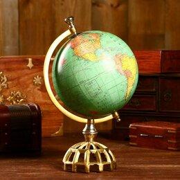 Глобусы - Глобус сувенирный 'Сфера' 20,3х20,3х34,3 см, 0