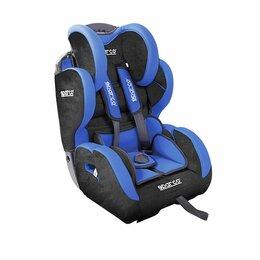 Автокресла - Детское кресло «Sparco», группы 1/2/3 (9-36 кг/9 мес-12 лет), велюр + вставки из, 0