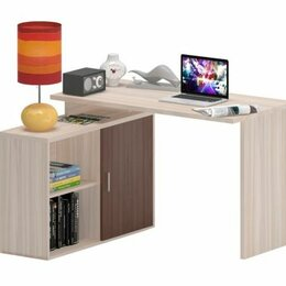 Компьютерные и письменные столы - СКЛ-Прям120 + ТБЛ-2 компьютерный стол, 0
