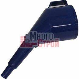 Комплектующие - Воронка пластик. D 120 мм разборная с ручкой, фильтром, цветная, 0